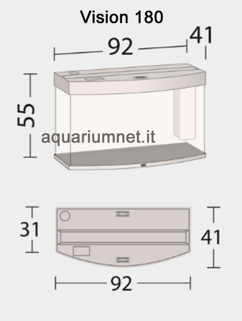 Acquario-Juwel-Vision-180-con-Supporto